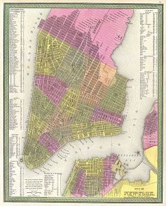 1848 New York Mitchell Map