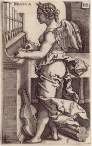 Musica- Sebald Beham - The Seven Liberal Arts