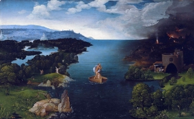 Joachim Patinir - Crossing the River Styx