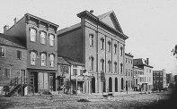 Fords Theatre - 1865- NARA