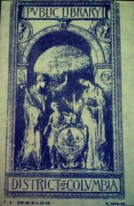 DC Public Library Book Plate